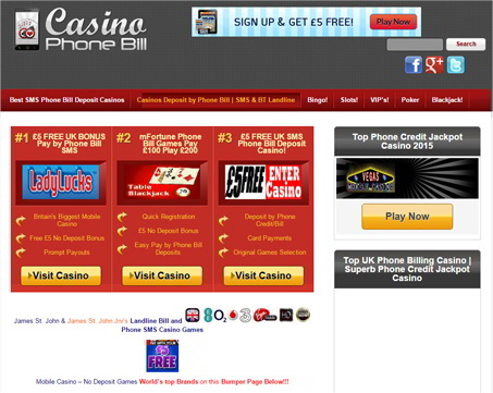 Mobile Slots & Casinos