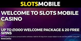 Slots Mobile Site