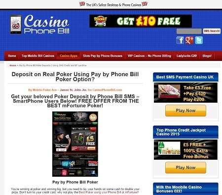 Pay by Phone Bill Slot